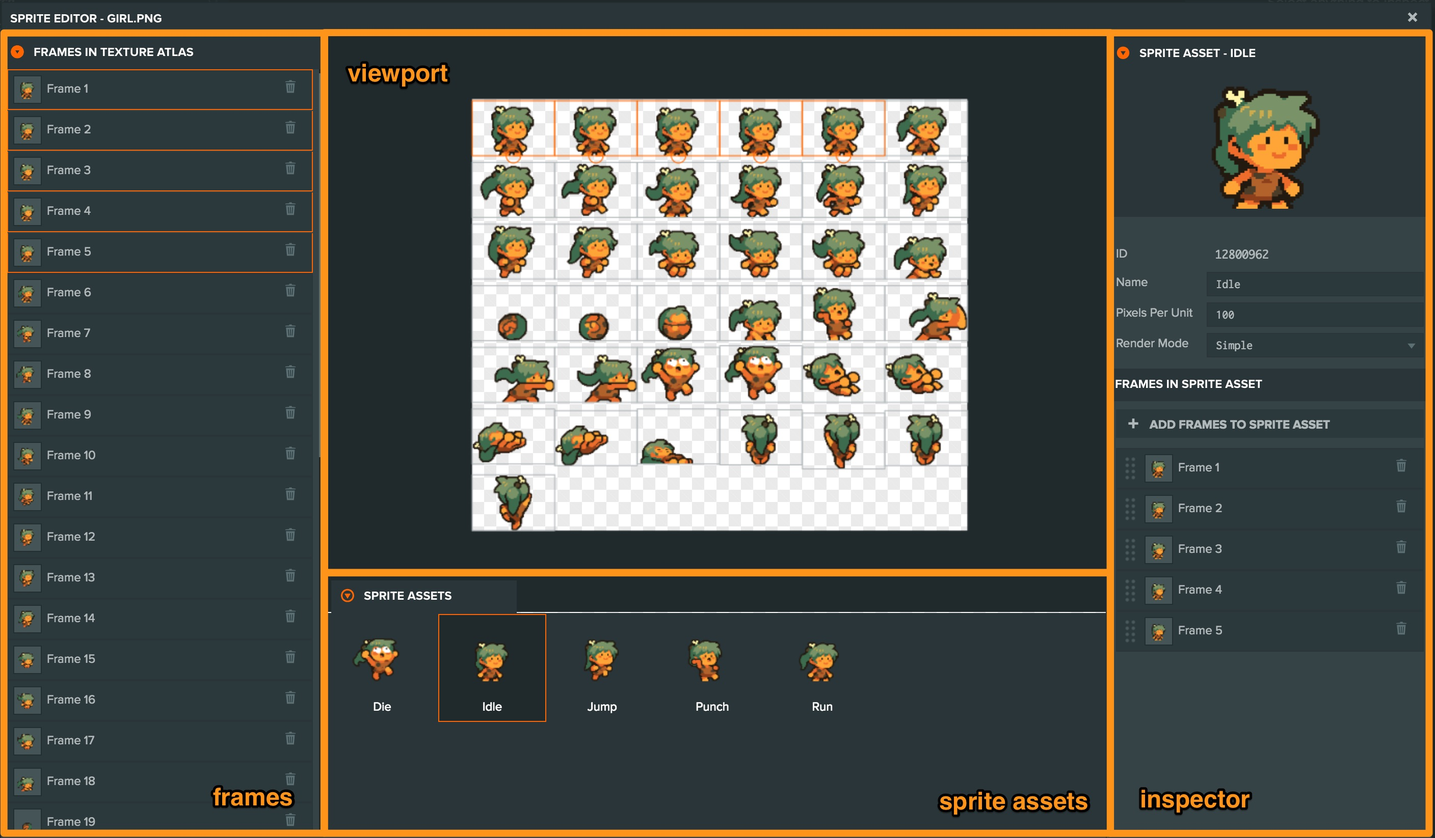 Sprite Editor | Learn PlayCanvas