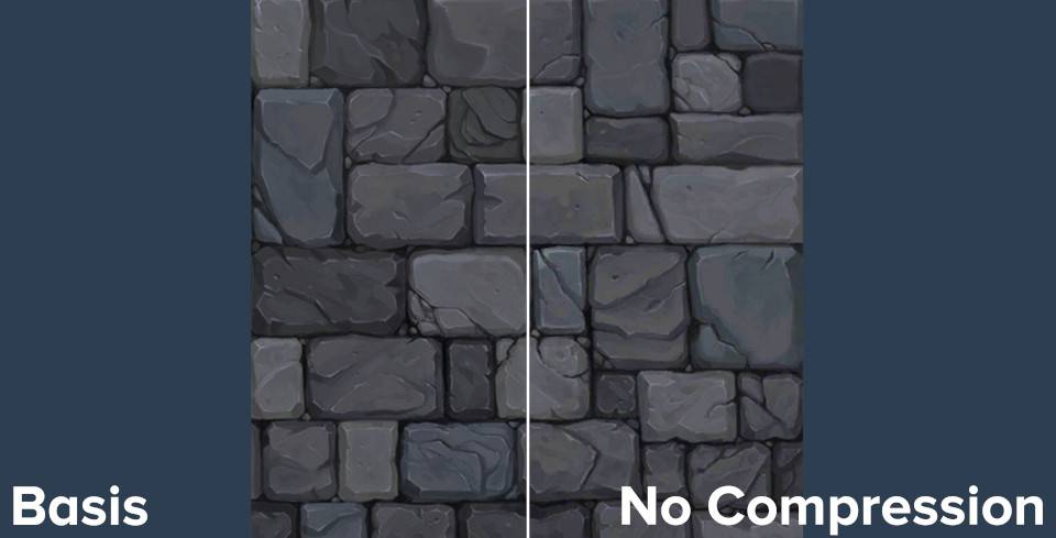 Brick texture compression comparison