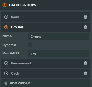 Creating Batch Groups